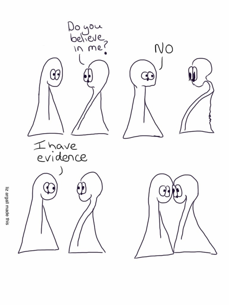 Belief and evidence