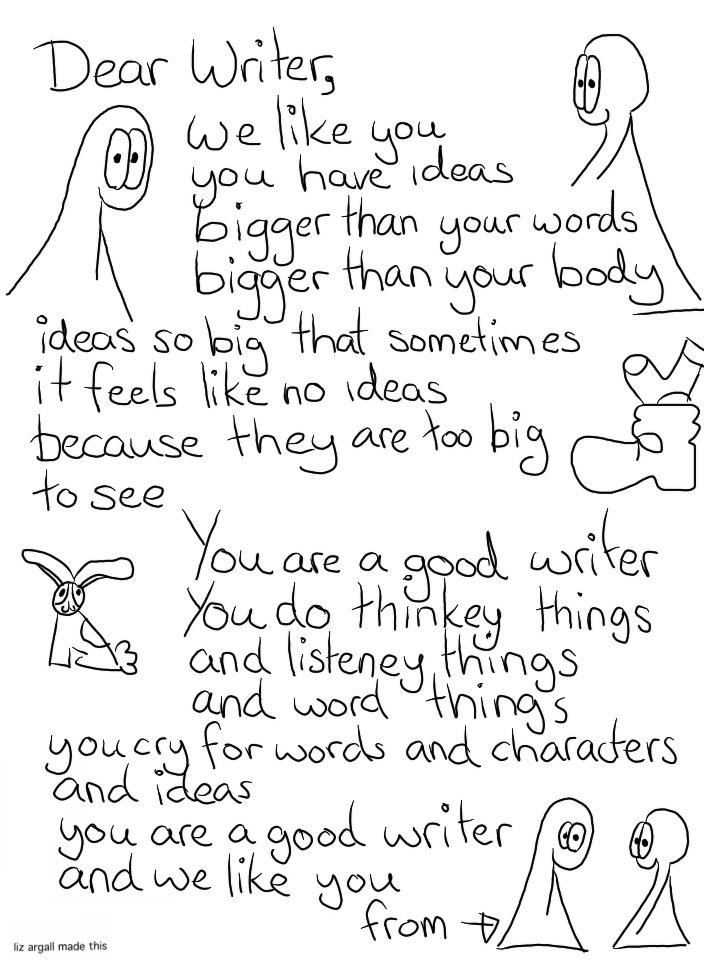 27: Dear Writer