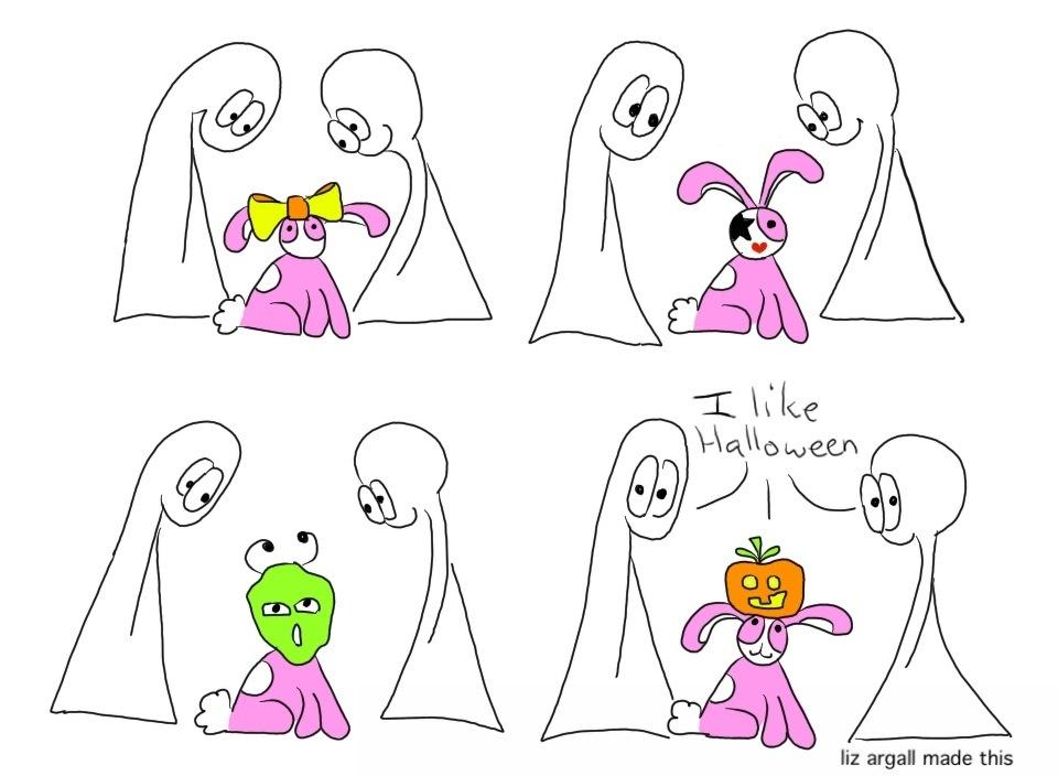 68: Bunny Halloween