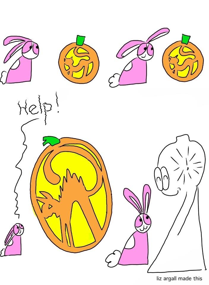 70: Scary pumpkin