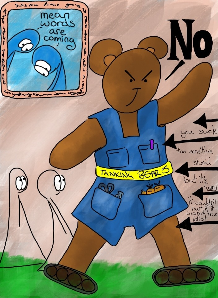 143: Tanking mumma bear (part 1)