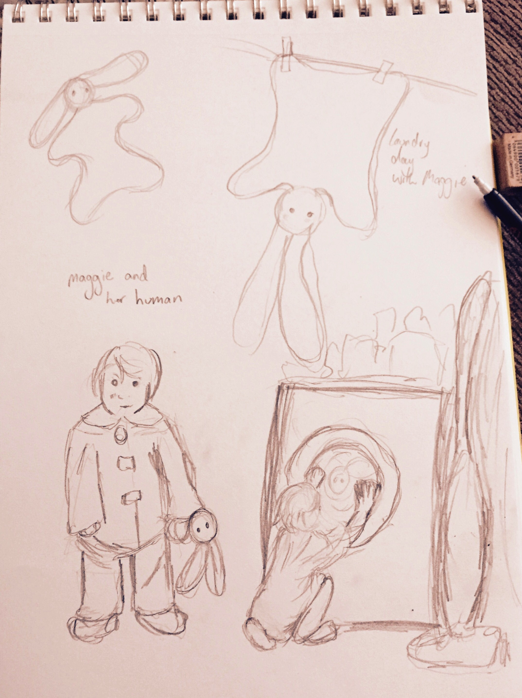 Maggie Sketches