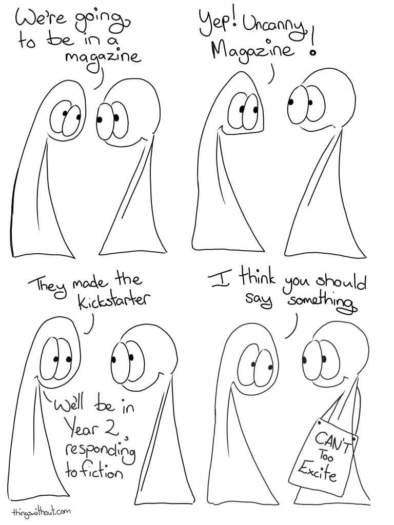Excited things, webcomic