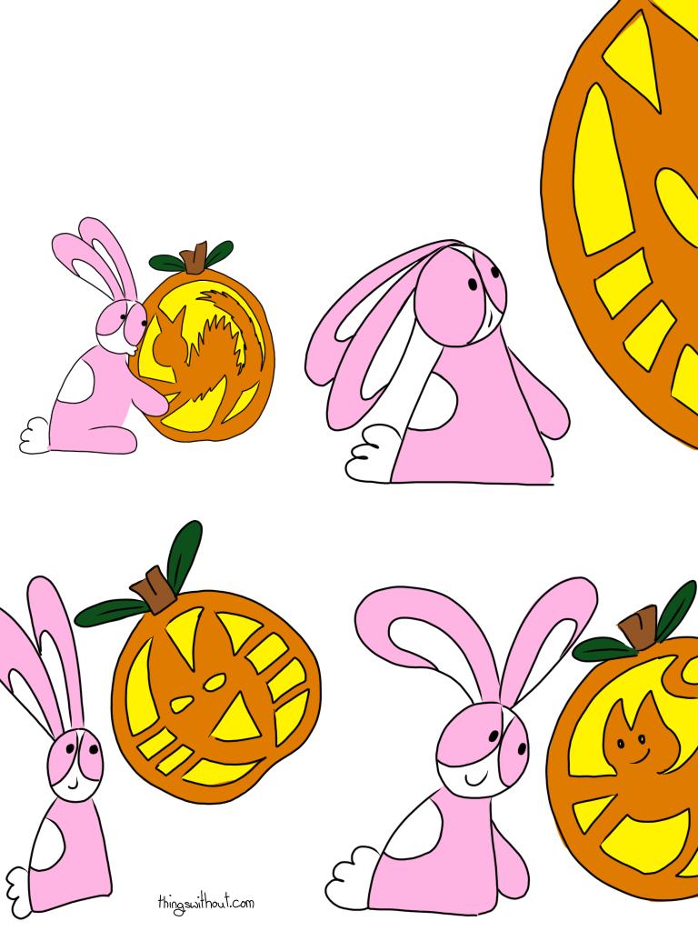Pumpkin cat webcominc