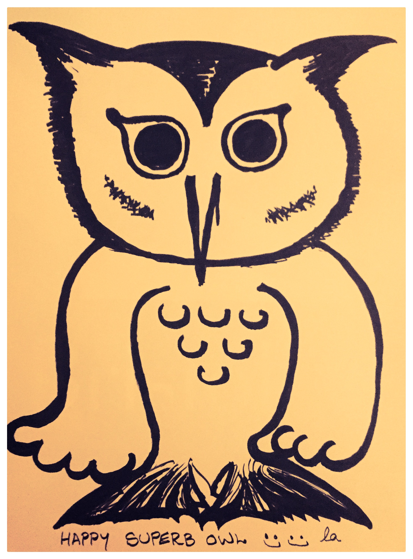 Happy Superb Owl