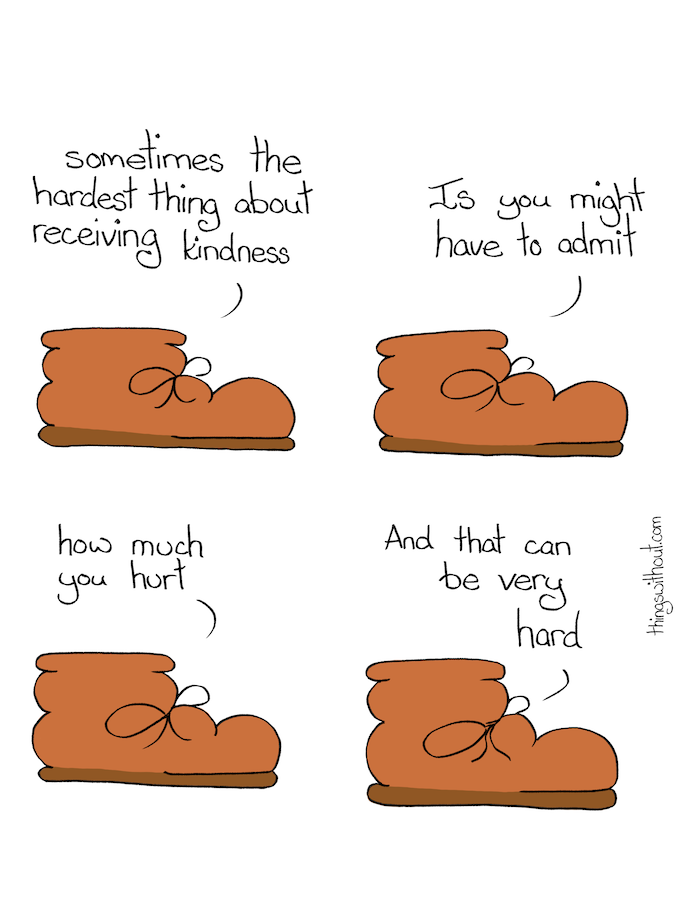 554: Boot on kindness